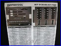 New Greenfield Tap and Die Set 85-Piece SAE Metric Hardigg Storm Case Aircraft