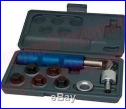 Oil Pan Plug Threader Tapping Rethreading Tool Kit 12-14 mm 1/2 Thread Oversize