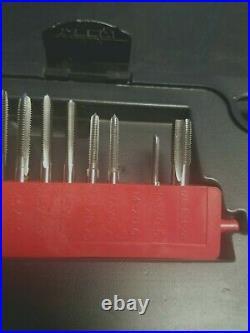 Open Box GearWrench 3887 77pc Ratcheting SAE/Metric Tap Die Master Kit Tool Set