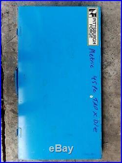 Pro-Grade 45-Piece Large-Diameter Alloy Steel Tap & Die Tool Set Metric
