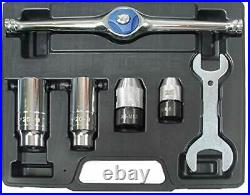 Ratcheting Tap and Die Holder Set 6 pcs