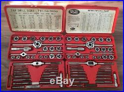 Rimac Hexset Tools SAE and Metric Tap and Die Sets Made in USA Model 777 & 777M