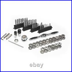 SAE/Metric Ratcheting Tap and Die Set (77-Piece)