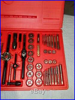 SNAP ON TAP AND DIE TOOL SET TDTDM500 Standaed and metric 76 pc. Set