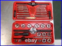 SNAP ON TDM-117AMetric Tap & Die Set WithRed CaseComplete SetUSAMINTFREE SHIP