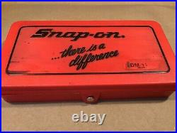 SNAP ON TDM-117AMetric Tap & Die Set WithRed CaseComplete SetUSANICEFREE SHIP