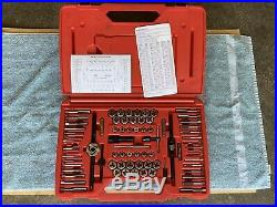 SNAP-ON TDTDM500A 76-PIECE TAP & DIE SET! Missing Two Pieces