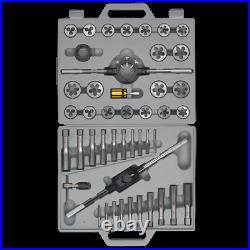 Sealey AK303 45 Piece Tungsten Steel Tap and Split Die Set