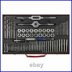 Sealey AK3076 Tap & Die Set 76pc Split Dies Metric