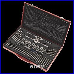 Sealey AK3076 Tap and Die Set Split Dies 76pc Metric High quality, with Box