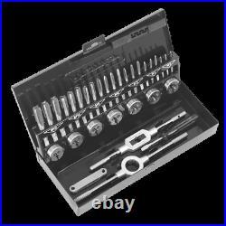 Sealey Tap & Die Set 32pc Split Dies HSS 4341 Metric AK3015HSS