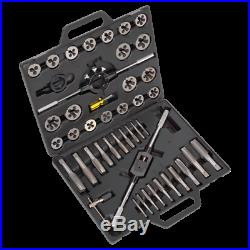 Sealey Tools AK303IMP Tap and Die Set 1/4 1 UNF & UNC Imperial Threads in