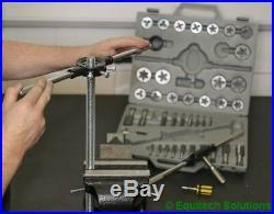 Sealey Tools AK303 Metric Tungsten Steel Tap & Split Die Set Coarse & Fine New