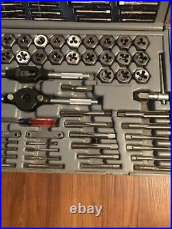 Sears Craftsman Tap & Die Set 76 Pieces Metric & Standard