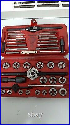 Snap-On 41 Piece Metric Tap and Die Set TDM-117A