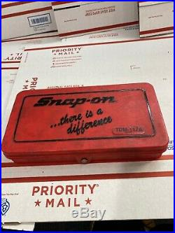 Snap On 42pc Metric Tap and Die Set TDM-117A in Case New O