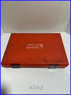 Snap On 48pc Rethreading Set Fractional & Metric In Case RTD48