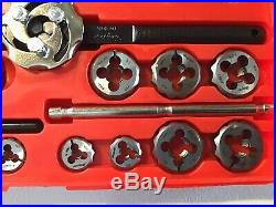 Snap On TDM117A 41 pc Metric Tap and Die Set 3MM-12MM