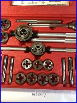 Snap On TDM99117A 25 PC Metric Tap and Die Set in Case 14 24 mm