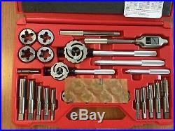 Snap On TDM99117B 25 pc Metric Tap and Die Set 14-24mm