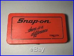 Snap On TDM-117A Metric Tap and Die Set, With case, Seldom used, Great shape