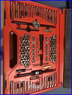 Snap On TDTDM500A 76 Piece SAE Metric Tap & Die Set Nice