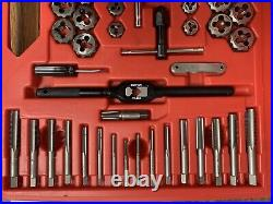 Snap-On TDTDM500A Tap & Die Set Double Hex Dies Metric & Standard Made In USA