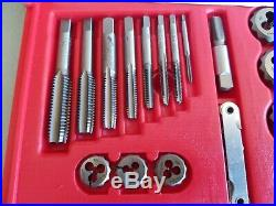Snap-On TDTDM500 76 Piece Tap & Die Set Used once MINT CONDITION