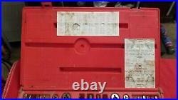Snap On Tap & Die Set Metric & SAE Complete kit as shown TDTDM500