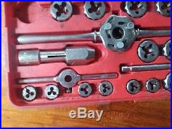 Snap-On Tool USA Quality TDM-117A Metric Tap and Die Set Thread Repair and Cut