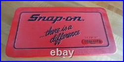 Snap On Tools 41 Pc Metric Tap & Die Set TDM117A NICE Ships Free