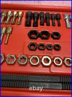 Snap-On Tools 48 Piece Master Rethreading Tap and Die Set RTD48