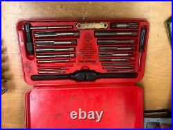 Snap-On Tools Metric Tap & Die SET TDM-117A 41 Piece USA 10 19 mm Free Ship