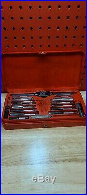 Snap-On Tools TDM-117A Metric Tap & Die Set GREAT CONDITION & COMPLETE