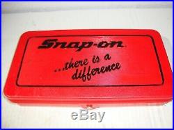 Snap-On Tools TDM-117A Metric Tap & Die Set UNUSED