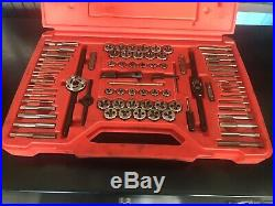 Snap On Tools TDTDM500A 76 pc Combination Tap & Die Set Threading Sae/Metric