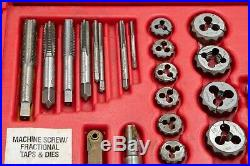 Snap On Tools TDTDM500 76 Piece SAE & Metric Combination Tap & Die Set