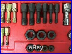 Snap-on Rtd48 48 Piece Fractional And Metric Rethreading Set Tap Die