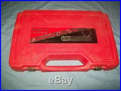 Snap-on TDM99117B 25-piece 12 to 24 mm NF / NC Tap and Die Set in Case ExC