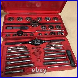 Snap-on TDM-117A 41 Piece Metric Tap And Die Set Made In USA