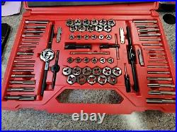 Snap-on TDTDM117A metric and SAE tap and die MASTER SET 117 piece set