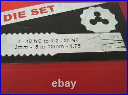 Snap-on TDTDM500A Combination Tap & Die Set 76 Piece