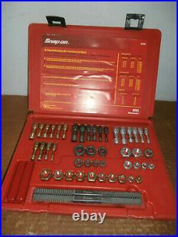 Snap-on Tools 48 Pc Rethreading Set Fractional & Metric # Rtd48