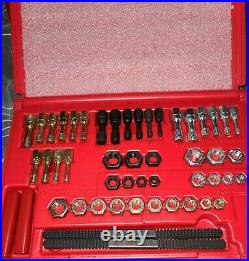 Snap-on Tools 48 Piece Thread Restoring Tap Die Set Rethreader File Rtd48