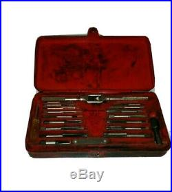Snap-on Tools Automotive Metric Tap & Die Set Branded Red Case 40 Piece TDM117A