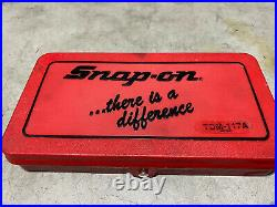 Snap-on Tools Metric Tap And Die Set Made In USA Tdm-117a