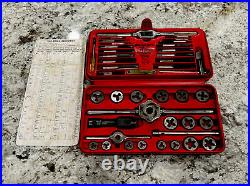 Snap-on Tools Metric Tap & Die Set Made In USA Tdm-117a