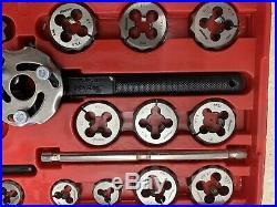 Snap-on Tools Metric Tap & Die Set Tdm117a Used