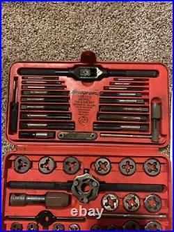 Snap-on Tools TDM-117A Metric Tap and Die Set with Double Hex, Adjustable