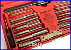 Snap-on Tools Tap And Die Set TDM-117A In The Case